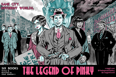 Legend of Pinky - poster